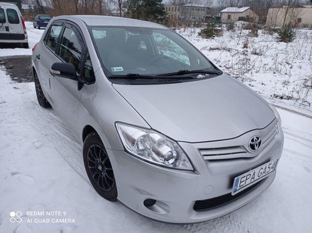 Toyota Auris, 2012r, Srebrny Met.