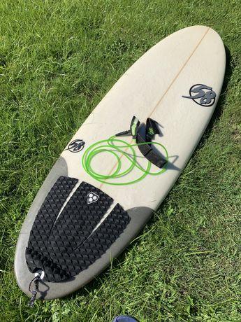 "Prancha de  Surf 5'3"" - Estilo Firewire Baked Potato"