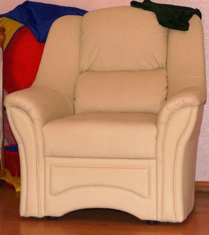 Кресло белое, новое