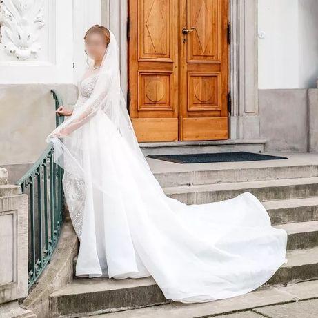 Wyjątkowa suknia ślubna 34/36, Gratisy