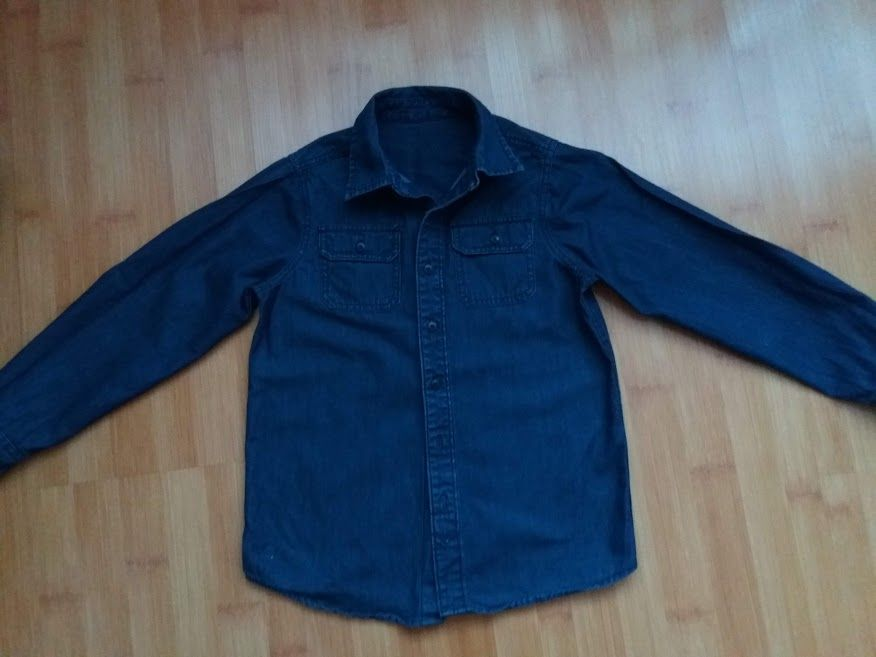 Джинсова сорочка від фірми Oshkosh на 10 років Сокаль - изображение 1