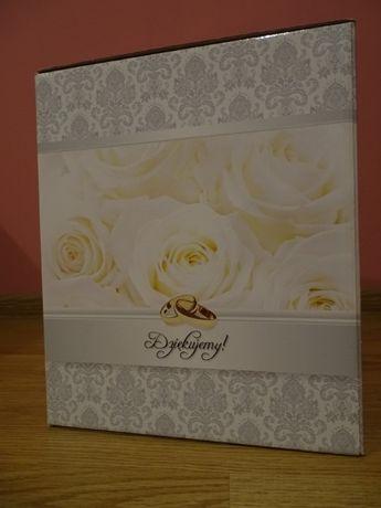 Skrzynka na prezenty, koperty ślubne
