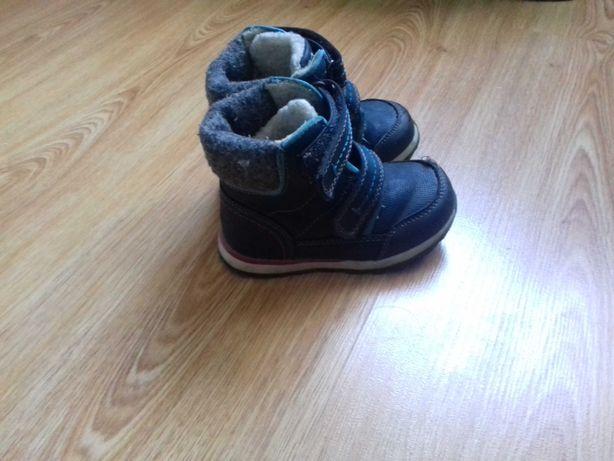 buty zimowe chlopiece rozmiar 22