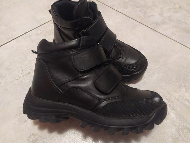 Ботинки демисезонные ортопедические, кожаные