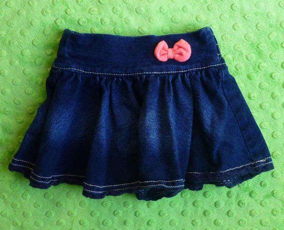 JAK NOWA spódniczka spódnica dżinsowa Reserved 62 68 74