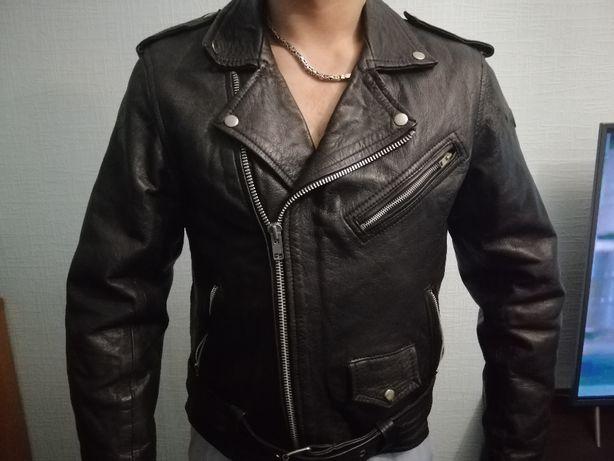 СРОЧНО cockpit кожаная куртка косуха мужская L