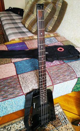 Cherrystone headless bass, бас гитара