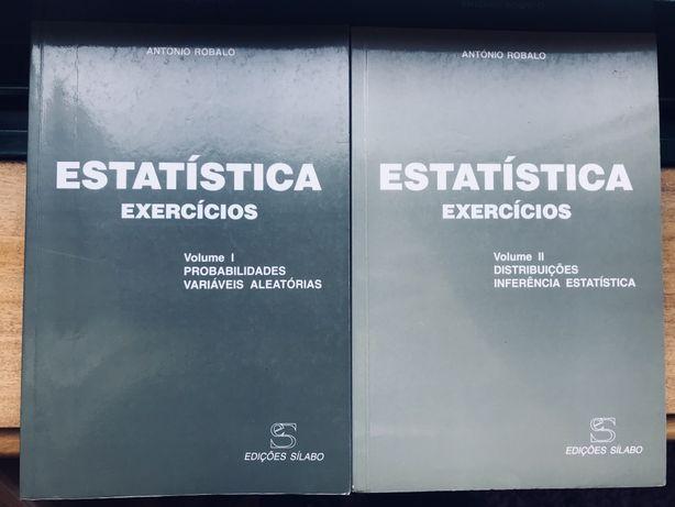 2 Livros de exercicios de estatistica