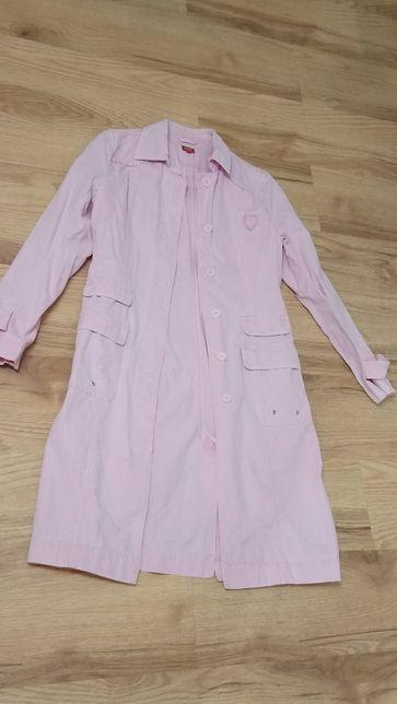 Różowy płaszcz,rozm.38