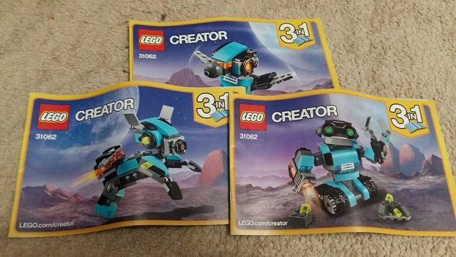LEGO Creator Робот-исследователь (31062)