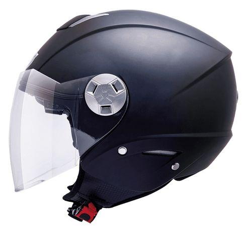 Kask Motocyklowy JET otwarty MT CITY Eleven czarny rozm. XS -M