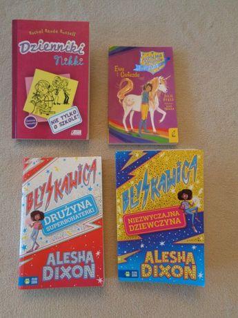 Książka Błyskawica:Niezwyczajna Dziewczyna+Drużyna Superbohaterki+2