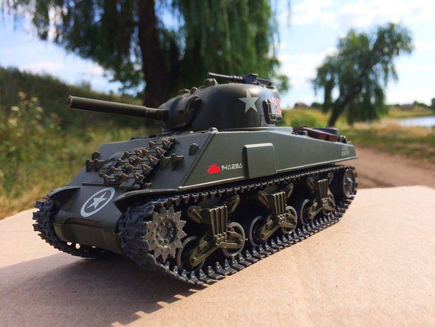 Танк «M-4A1 Sherman» на батарейках. 1:32