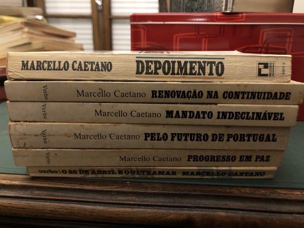 Livros de Marcello Caetano