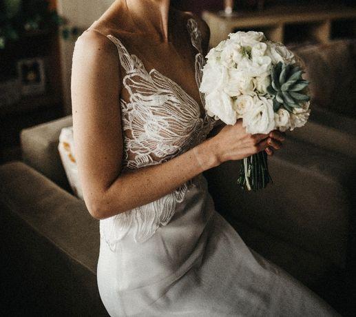 Suknia ślubna - unikat!