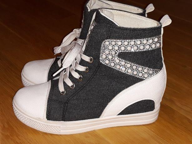 Sprzedam Sneakersy damskie mało używane rozm.39