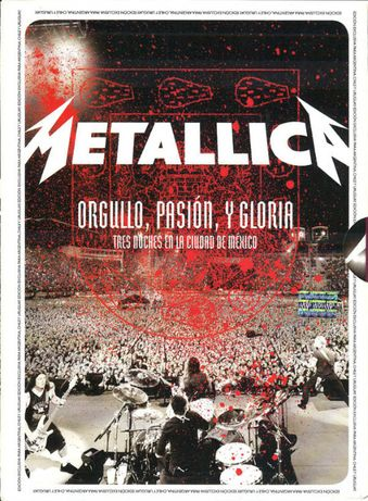 Metallica ‎– Orgullo, Pasión, Y Gloria 2CDs+2DVDs NOVO