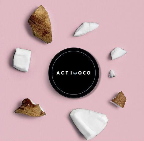 Acticoco Środek do wybielania zębów 100%naturalny promocja