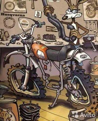 Ремонт мотоцыклов и скутеров