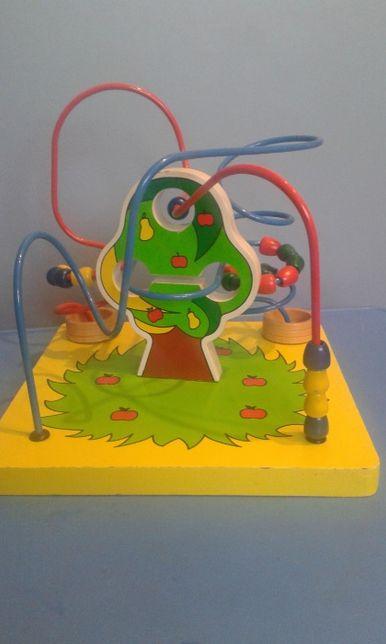 Zabawka edukacyjna przekładanka mula