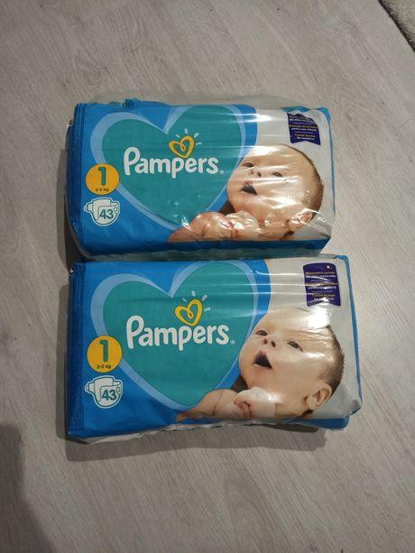 """Zamienię pampersy """"Pampers"""" 2-5 kg na chusteczki nawilżane"""