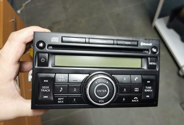 Radio Nissan Qashqai j10, jj10, 2+