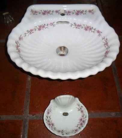 Lavatório de Mãos Porcelana antigo Porcelaine de Paris