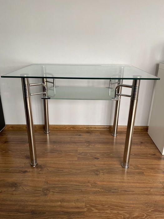 Szklany stolik/ biurko Plemięta - image 1