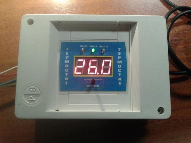 Терморегулятор - гигрометр для инкубатора