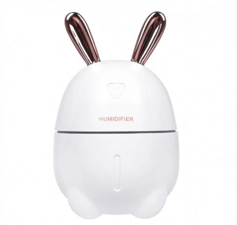 Увлажнитель воздуха и ночник 2в1 Humidifiers Rabbit БЕЛЫЙ