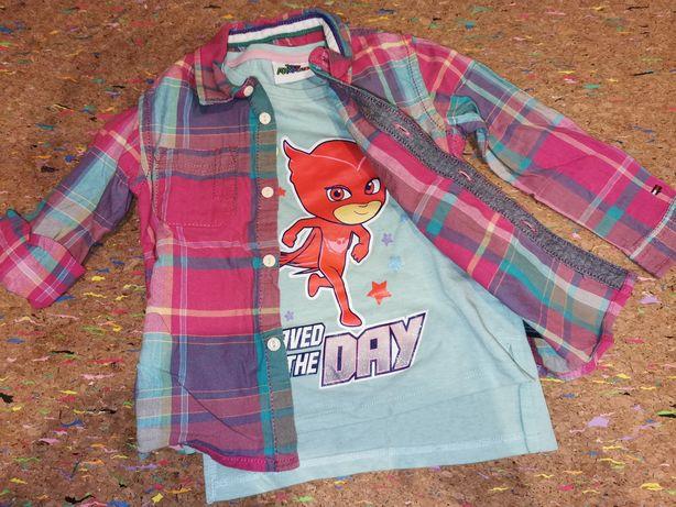 Śliczna koszula krata 92