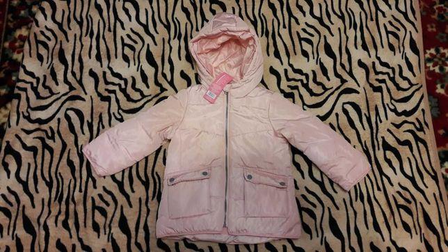 Курточка,куртка на девочку на флисе. Новая. Польша.