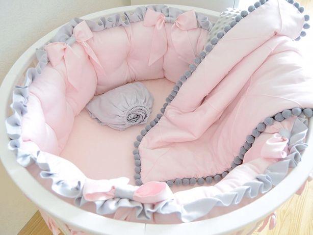 Дитяча постіль бортики захист в ліжечко постель защита