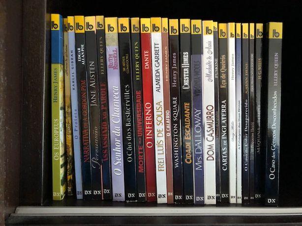 Colecção 24 livros de bolso europa américa/diário de noticias
