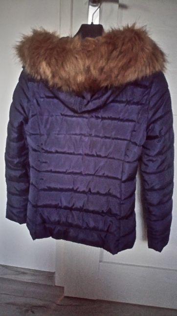 kurtka zimowa z kapturem s
