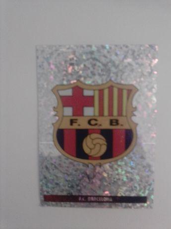 Cromo símbolo Barcelona