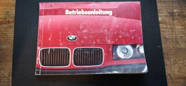 Oryginalna instrukcja obsługi BMW E36