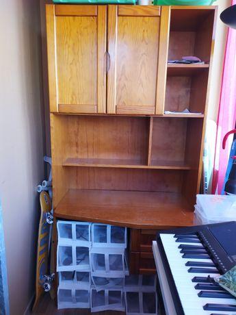 Escrivaninha/ secretaria em madeira
