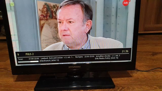 Tv led telewizor monitor 20 cali hyundai hdmi