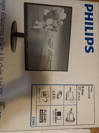 Монитор IPS full hd Philips 234e5 23'' (58.4см)