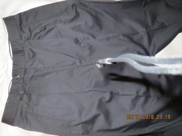 брюки чёрного цвета на подкладке мужские