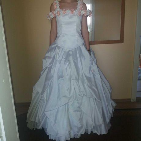 Sukienka ślubna dwuczęściowa