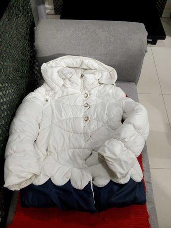 Куртка зимняя девочка