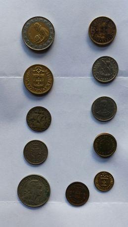 Lote de moedas portuguesas antigas