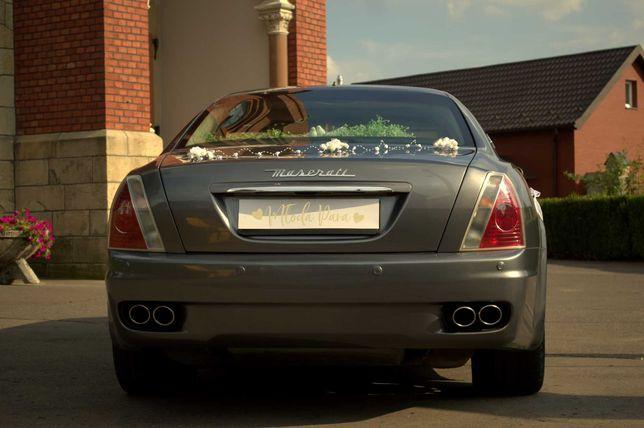 auto / #Samochod do ślubu #Maserati sesja ivent #targislubne
