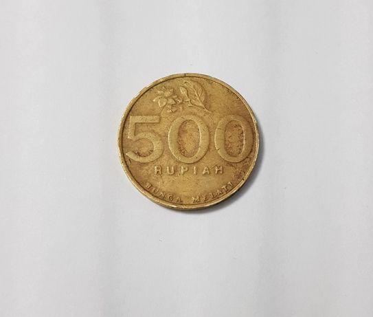 Moeda 500 rupias Indonésia