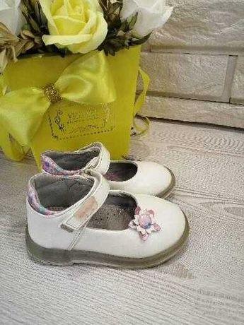 Туфельки на девочку 22 размер