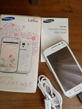Мобильный телефон Samsung Galaxy Ace II I8160 White La Fleur