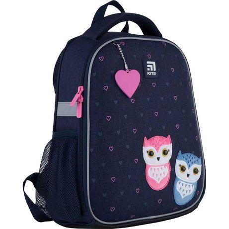 Рюкзак школьный каркасный Kite Lovely owls K21-555S-4