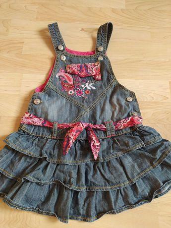 Sukienka dżinsowa 2-3 lata Marks&Spencer